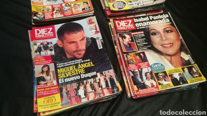 Coleccionismo de Revista Diez Minutos: LOTE DE 40 REVISTAS , DIEZ MINUTOS ( 33 ) PRONTO ( 5 ) ¡QUÉ ME DICES! ( 2 ) - Foto 3 - 222394176