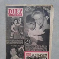 Coleccionismo de Revista Diez Minutos: DIEZ MINUTOS. 2 DE FEBRERO DE 1957. NUM 284. MARGARITA SIERRA ANITA ADBERG GENEVIEVE ZANETTI. Lote 222560323