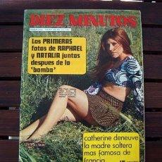 Coleccionismo de Revista Diez Minutos: DIEZ MINUTOS / MIRTA MILLER, ORNELLA MUTI, MARK GODDARD, PILAR PARDO, ANNA BRETT, RAPHAEL. Lote 223118446