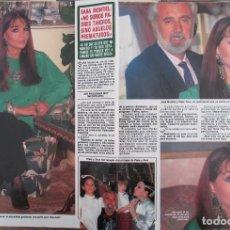 Collectionnisme de Magazine Diez Minutos: RECORTE REVISTA DIEZ MINUTOS Nº 1972 1989 SARA MONTIEL. MARTA SANCHEZ.. Lote 223125978