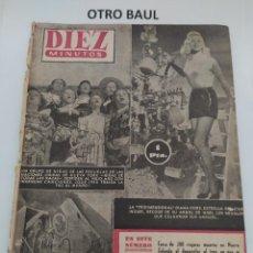 Coleccionismo de Revista Diez Minutos: REVISTA DIEZ MINUTOS, NUMERO 123, 3 DE ENERO DE 1954, LEER DESCRIPCION. Lote 223310165