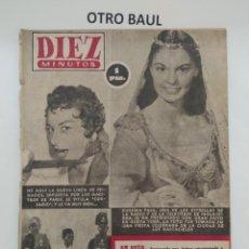 Coleccionismo de Revista Diez Minutos: REVISTA DIEZ MINUTOS, NUMERO 132, 7 DE ENERO DE 1954, LEER DESCRIPCION. Lote 223310471