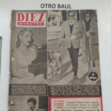 Coleccionismo de Revista Diez Minutos: REVISTA DIEZ MINUTOS, NUMERO 134, 21 DE MARZO DE 1954. Lote 223310666