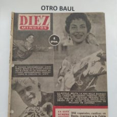 Coleccionismo de Revista Diez Minutos: REVISTA DIEZ MINUTOS, NUMERO 136, 4 DE ABRIL DE 1954, LEER DESCRIPCION. Lote 223310865