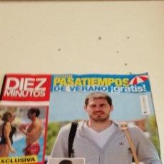 Coleccionismo de Revista Diez Minutos: G-52 REVISTA DIEZ MINUTOS IKER CASILLAS 3601. Lote 224600205