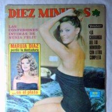Coleccionismo de Revista Diez Minutos: REVISTA DIEZ MINUTOS Nº 1274 ENERO 1976 LAS CONFESIONES INTIMAS DE NURIA FELIU. Lote 225254085