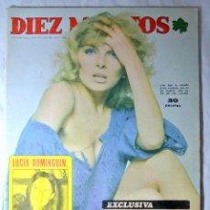 Coleccionismo de Revista Diez Minutos: REVISTA DIEZ MINUTOS Nº 1230 MARZO 1975 EXCLUSIVA SOFIA MEMORIAS-ESCANDALO A SUS 40 AÑOS. Lote 225263777