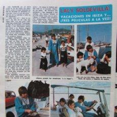 Coleccionismo de Revista Diez Minutos: RECORTE REVISTA DIEZ MINUTOS Nº 1203 1974 LALY SOLDEVILLA. Lote 228041250
