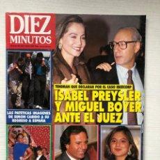Coleccionismo de Revista Diez Minutos: DIEZ MINUTOS 2125 LOLA FLORES MONTOLIU MICKEY ROURKE LATOYA MAURA MADONNA ALMODOVAR MARUJITA. Lote 229108035