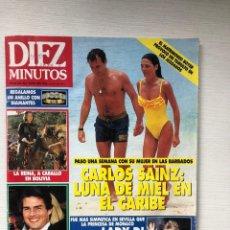 Coleccionismo de Revista Diez Minutos: DIEZ MINUTOS 2128 CARLOS SAINZ TOM CRUISE JOAN COLLINS LOLA FLORES MARADONA BELEN RUEDA. Lote 229109325
