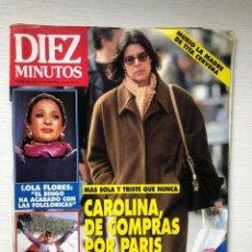 Coleccionismo de Revista Diez Minutos: DIEZ MINUTOS 2115 LOLA FLORES TERESA RIVERA PAQUIRRI PANTOJA CONCHA VELASCO PELÉ. Lote 229111590