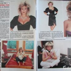 Collectionnisme de Magazine Diez Minutos: RECORTE REVISTA DIEZ MINUTOS Nº 1868 1987 SAMANTHA FOX. Lote 230215580