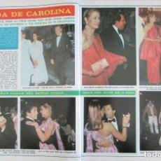 Collectionnisme de Magazine Diez Minutos: RECORTE REVISTA DIEZ MINUTOS Nº 1402 1978 CAROLINA DE MÓNACO. PORTADA Y 8 PGS. Lote 230218340