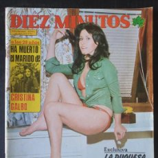 Collectionnisme de Magazine Diez Minutos: REVISTA DIEZ MINUTOS Nº 1184 POSTERS LEE MAJORS - PAULA PATIER (RESERVADO). Lote 234149775