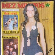 Collectionnisme de Magazine Diez Minutos: REVISTA DIEZ MINUTOS Nº 1215 POSTER GEORGE HARRISON - KAREN JENSEN. Lote 234149925