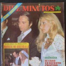 Collectionnisme de Magazine Diez Minutos: REVISTA DIEZ MINUTOS Nº 1258 POSTER MICHAEL LANDON - PALOMA NEUPARED. Lote 234150165