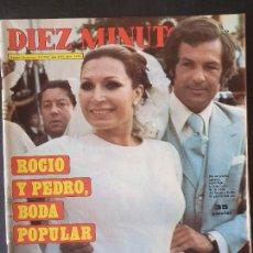 Colecionismo da Revista Diez Minutos: REVISTA DIEZ MINUTOS Nº 1293 POSTER FERNANDO ESTESO - CLAUDIA GRAVY. Lote 234150310
