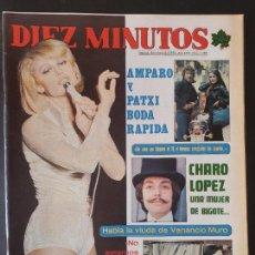 Collezionismo di Rivista Diez Minutos: REVISTA DIEZ MINUTOS Nº 1289 POSTER MICHAEL CAINE - BARBARA REY. Lote 234150325