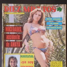 Collectionnisme de Magazine Diez Minutos: REVISTA DIEZ MINUTOS Nº 1301 POSTER LOS GOLFOS. Lote 234150365
