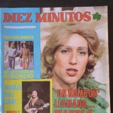 Collectionnisme de Magazine Diez Minutos: REVISTA DIEZ MINUTOS Nº 1312 POSTER PEPE DA ROSA - JANE MANSON. Lote 234150460