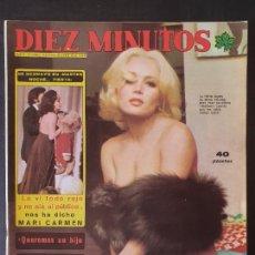 Collectionnisme de Magazine Diez Minutos: REVISTA DIEZ MINUTOS Nº 1320 POSTER SANDOKAN. Lote 246901515