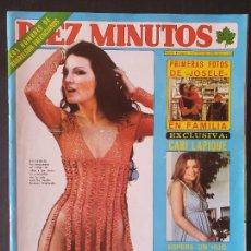 Collectionnisme de Magazine Diez Minutos: REVISTA DIEZ MINUTOS Nº 1338 POSTER FRANCO SIMONE - CONCHA VELASCO. Lote 234150540