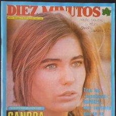 Collectionnisme de Magazine Diez Minutos: REVISTA DIEZ MINUTOS Nº 1360 POSTER PETER FRAMPTON - CARMEN PLATERO. Lote 234150560