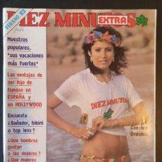 Colecionismo da Revista Diez Minutos: REVISTA DIEZ MINUTOS EXTRA VERANO 83 POSTER VICTOR MANUEL - CARMINA ORDOÑEZ. Lote 271967348
