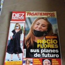Coleccionismo de Revista Diez Minutos: REVISTA DIEZ MINUTOS N°3592 .ROCÍO FLORES - ANA OBREGON .TERESA CAMPOS. Lote 234301895