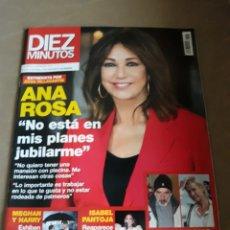 Coleccionismo de Revista Diez Minutos: REVISTA DIEZ MINUTOS N° 3578 . ANA ROSA . ISABEL PANTOJA . IMANOL ARIAS Y ANA DUATO. Lote 234309700