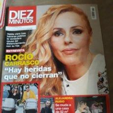 Coleccionismo de Revista Diez Minutos: REVISTA DIEZ MINUTOS N°3576 4 MARZO 2020 . ROCIO CARRASCO. TOÑI MORENO Y PASTORA SOLER .. Lote 234321460