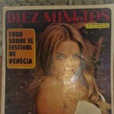 Coleccionismo de Revista Diez Minutos: DIEZ MINUTOS Nº 1046. Lote 235412420