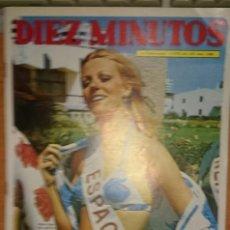 Coleccionismo de Revista Diez Minutos: DIEZ MINUTOS Nº 1088. Lote 235412655
