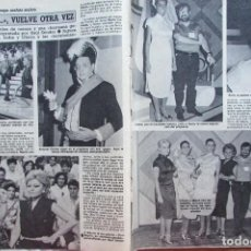 Collectionnisme de Magazine Diez Minutos: RECORTE REVISTA DIEZ MINUTOS N.º 1771 1985 UN, DOS, TRES.... Lote 235445505