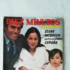 Coleccionismo de Revista Diez Minutos: DIEZ MINUTOS DOBLE PÓSTER PERLA CRISTAL, ERNESTO AURA, FÉLIX RODRÍGUEZ DE LA F, JULIO IGLESIAS. 1973. Lote 237279640
