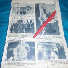 Coleccionismo de Revista Diez Minutos: RECORTE : MISS MANCHESTER. DIEZ MINUTOS, AGTO 1972(#). Lote 237990250