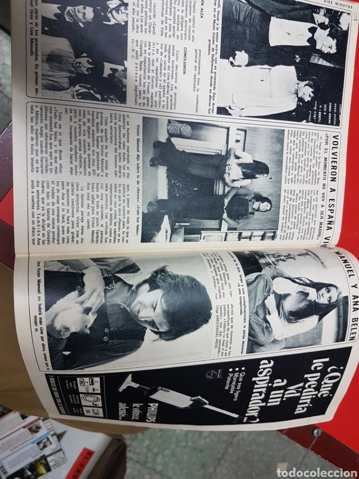 Coleccionismo de Revista Diez Minutos: Revista Diez minutos 1128 . Ana Belén. Boda Karina Ágata Luis Luis Miguel dominguin - Foto 6 - 203068082