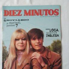 Coleccionismo de Revista Diez Minutos: DÍEZ MINUTOS NOVIAZGO DE MARISOL? 1968 NUM. 865. Lote 241699310