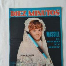 Coleccionismo de Revista Diez Minutos: DÍEZ MINUTOS 1968 NUM.867,RITA PAVONE,ROCIO DURCAL. Lote 241701380