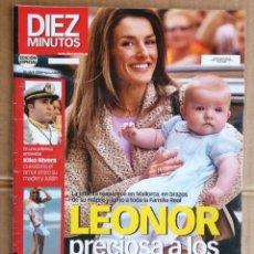 Coleccionismo de Revista Diez Minutos: REVISTA DIEZ MINUTOS , ABRIL 2006 , ANA OBREGON , LETICIA , KIKO RIVERA. Lote 242037085