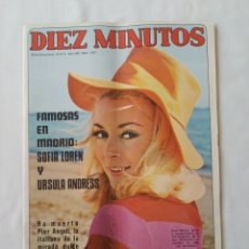 Coleccionismo de Revista Diez Minutos: REVISTA DÍEZ MINUTOS NUM.1047, AÑO 1971,CON POSTERS NOEL STEVER,MASSSIMO RANIERI. Lote 242293735