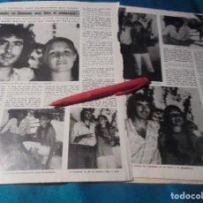 Coleccionismo de Revista Diez Minutos: RECORTE : JOAN MANUEL SERRAT, PROXIMO UN HIJO. DIEZ MINUTOS, AGTO 1979(#). Lote 243221765