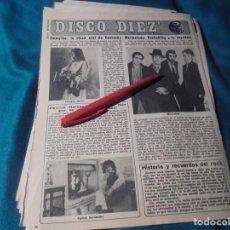 Coleccionismo de Revista Diez Minutos: RECORTE : EMMYLOU HARRIS. MERMELADA. DIEZ MINUTOS, AGTO 1979(#). Lote 243222880