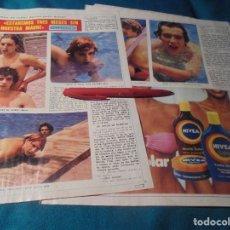 Coleccionismo de Revista Diez Minutos: RECORTE : VACACIONES DE LOS PECOS. DIEZ MINUTOS, AGTO 1979(#). Lote 243223015