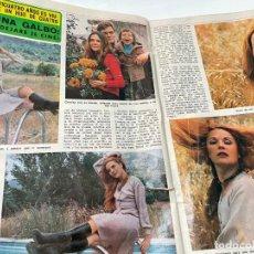 Coleccionismo de Revista Diez Minutos: DIEZ MINUTOS 1974 PALOMA CELA MARISOL HELMUT BERGER ROSA MORENA CAMILO SESTO MARIBEL MARTIN SURIA. Lote 243519980