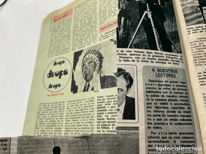 Coleccionismo de Revista Diez Minutos: DIEZ MINUTOS 1974 PALOMA CELA MARISOL HELMUT BERGER ROSA MORENA CAMILO SESTO MARIBEL MARTIN SURIA - Foto 2 - 243519980