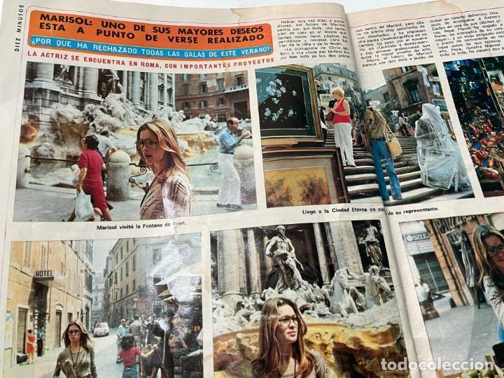 Coleccionismo de Revista Diez Minutos: DIEZ MINUTOS 1974 PALOMA CELA MARISOL HELMUT BERGER ROSA MORENA CAMILO SESTO MARIBEL MARTIN SURIA - Foto 4 - 243519980