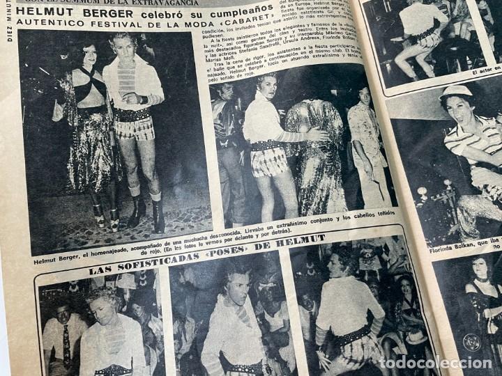Coleccionismo de Revista Diez Minutos: DIEZ MINUTOS 1974 PALOMA CELA MARISOL HELMUT BERGER ROSA MORENA CAMILO SESTO MARIBEL MARTIN SURIA - Foto 5 - 243519980