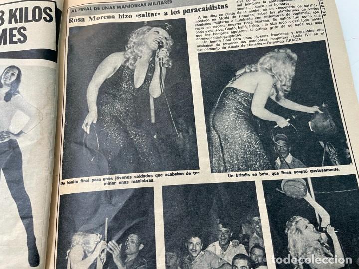 Coleccionismo de Revista Diez Minutos: DIEZ MINUTOS 1974 PALOMA CELA MARISOL HELMUT BERGER ROSA MORENA CAMILO SESTO MARIBEL MARTIN SURIA - Foto 6 - 243519980