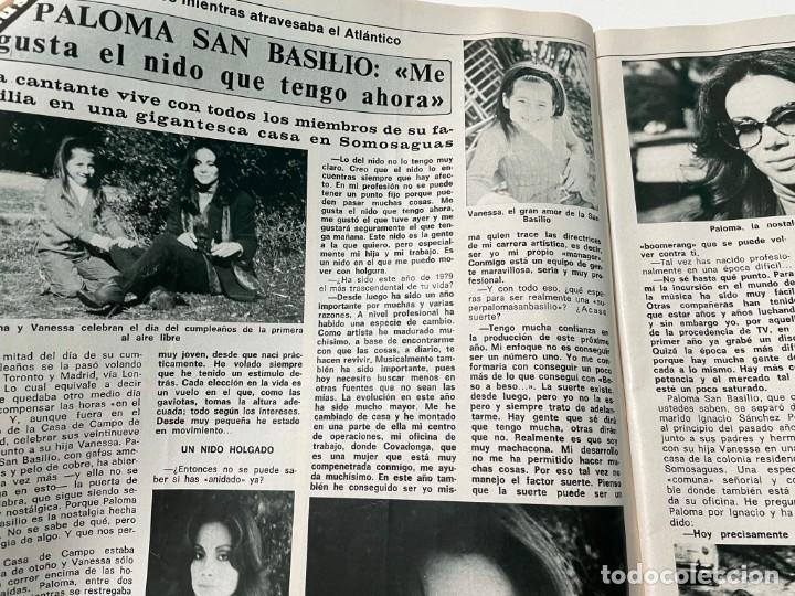 Coleccionismo de Revista Diez Minutos: DIEZ MINUTOS ENERO 1980 SAN BASILIO SARA MONTIEL BARBARA REY HOMBRE RICO HOMBRE POBRE BEE GEES - Foto 4 - 243521180